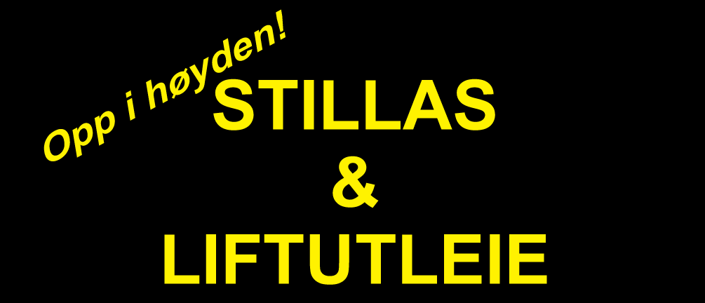 Evje Stillas & Liftutleie